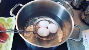 Ostereier färben- Vorbereitungen