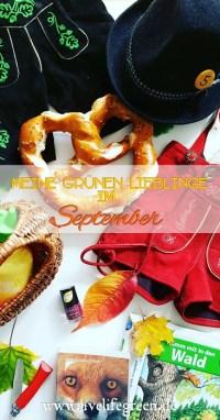 Pinterest-Pin: Grüne Lieblinge im September 2017