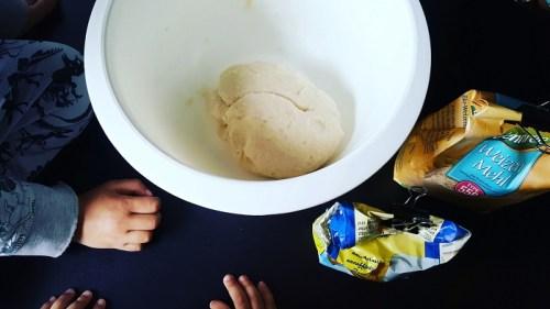 Kinder-Knete selbermachen Zutaten aus der Küche