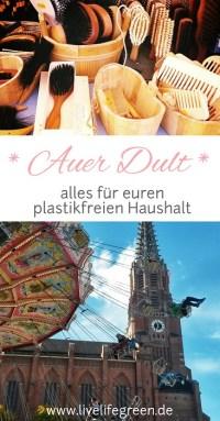 Pinterest-Pin: Auer Dult: plastikfrei einkaufen in München