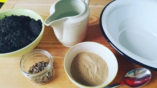 Seedbombs oder Samenbomben selber machen Zutaten