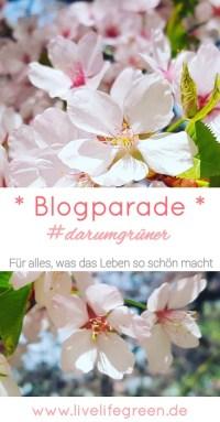 Pinterest-Pin: Blogparade #darumgrüner