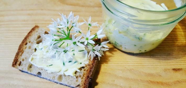 Bärlauchblüten-Butter