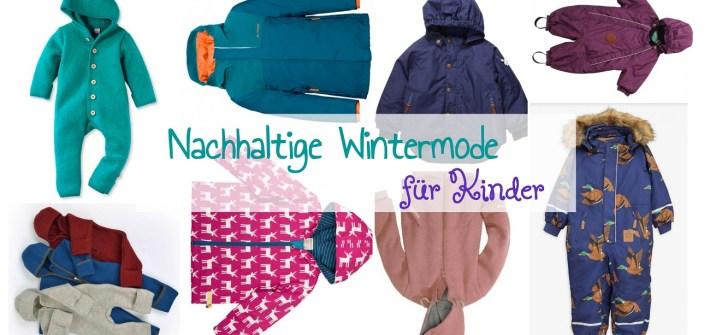 Faire und nachhaltige Winterjacken und Schneeanzüge für Kinder