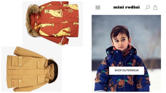 Faire und nachhaltige Winterjacken und Schneeanzüge für Kinder Mini Rodini