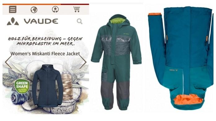 Faire und nachhaltige Winterjacken und Schneeanzüge für Kinder Vaude