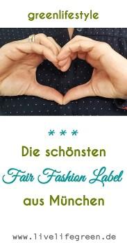 Pinterst-Pin: Fair Fashion Label aus München