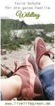 Pinterest-Pin: Faire Schuhe von Wildling