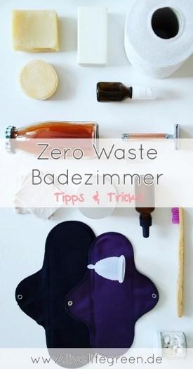 Zero Waste Badezimmer: Nachhaltige Körperhygiene ohne Müll (Pinterest-Pin)