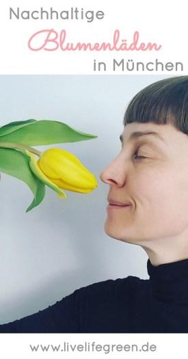 Pinterst-Pin: Nachhaltige Blumenläden in München