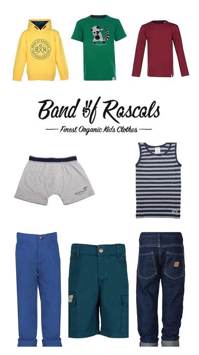 Coole Fair Fashion für Jungen - Band of Rascals
