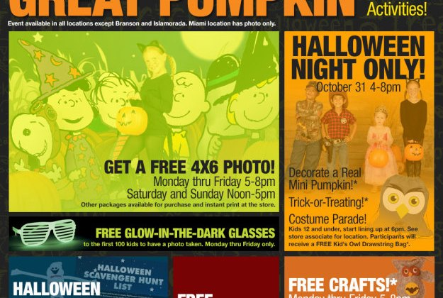 free halloween event