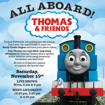 Thomas and friends at stone crest mall live life half price print m4hsunfo