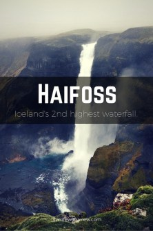 Haifoss - Second highest waterfall in Iceland   Life With a View