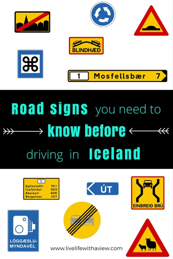 Road Signs You Need To Know Before Driving In Iceland Free Guide