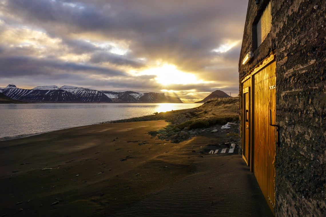 Incredible sunset in the Westfjords, Iceland - click for video! | Life With a View