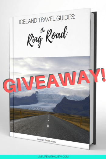 Iceland ring road self drive guidebook GIVEAWAY! Free to enter - multiple chances. Entries close May 23