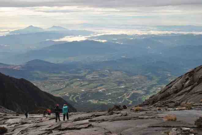 top of mt.kinabalu