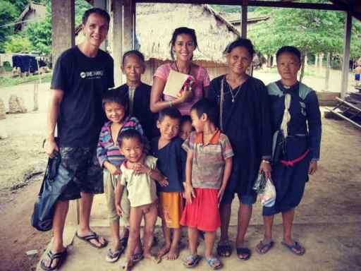 Minority Village Luang Namtha Laos