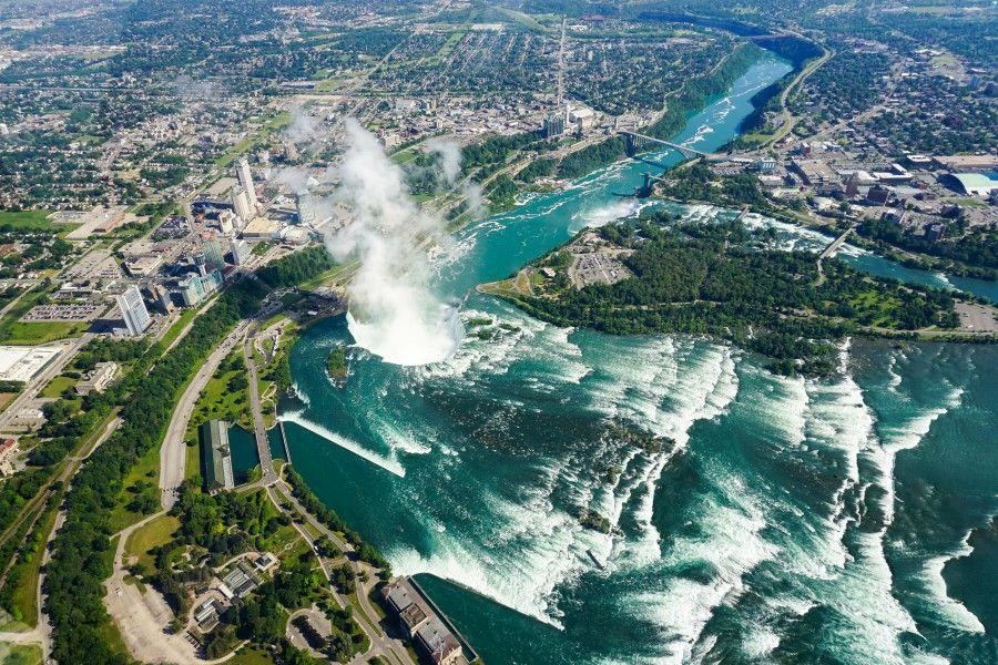 Niagara Falls from the sky