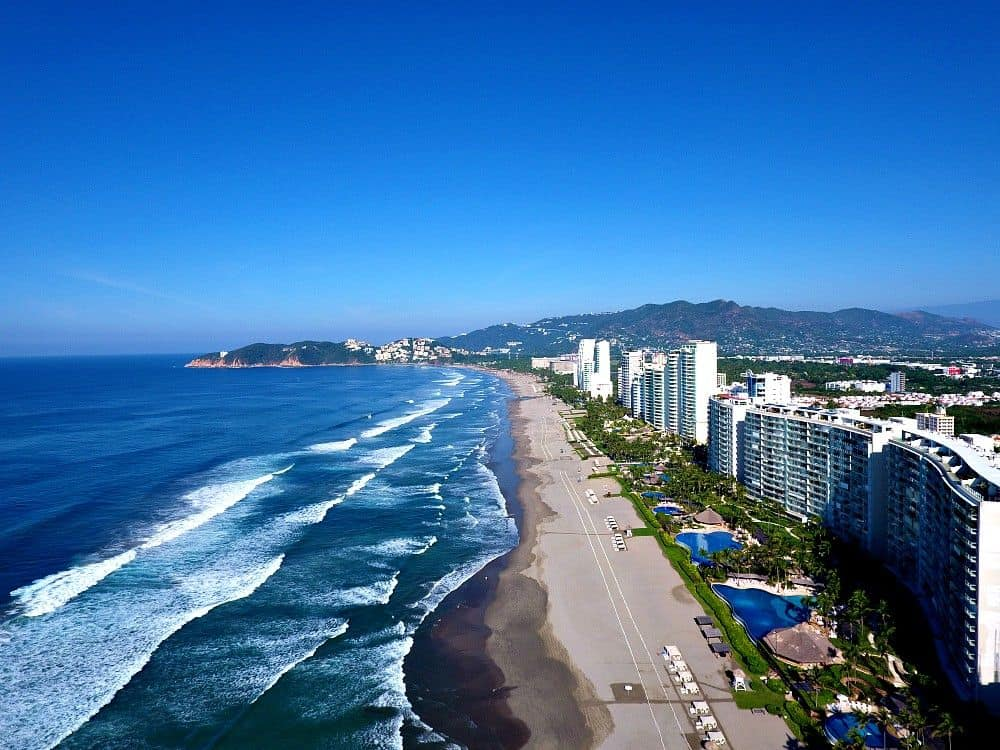 Acapulco Mexico by Drone