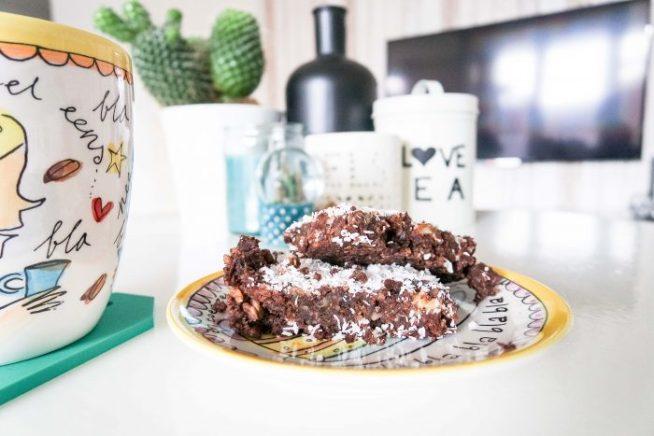 Recept - vegan brownie - at mi casa