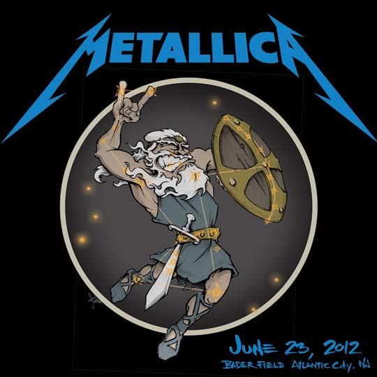 Metallica Hit Lights