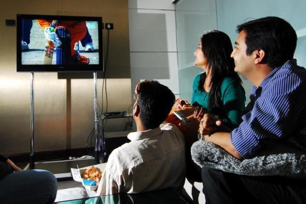 The gallery for --> Indian People Watching Television