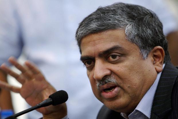 UIDAI chairman Nandan Nilekani. Photo: Manvender Vashist/PTI<br />