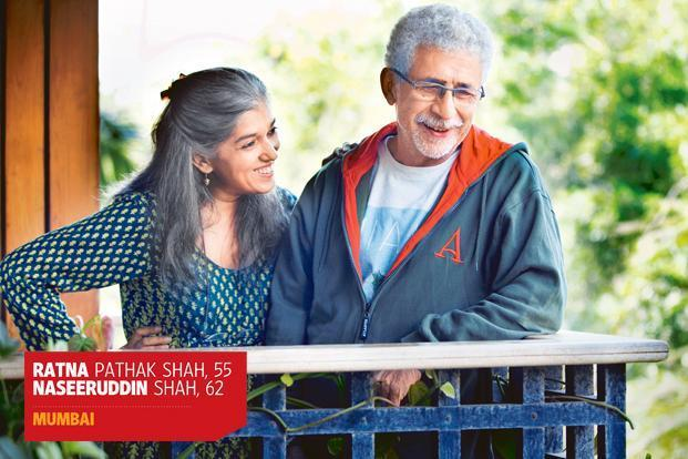 Image result for ratna pathak naseeruddin shah