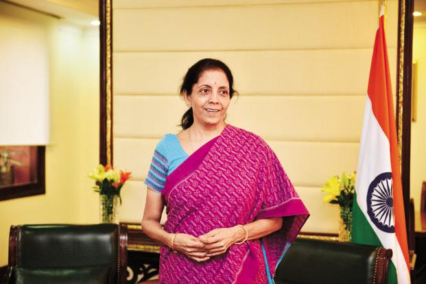 A file photo of trade minister Nirmala Sitharaman. Photo: Pradeep Gaur/Mint