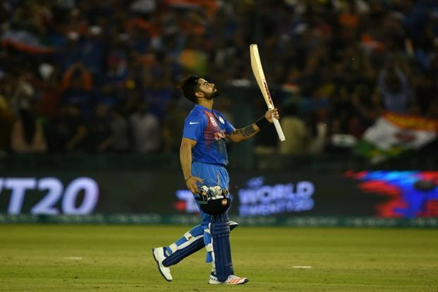 Kohli's consistency, especially in limited over matches, is enviable. Photo: AFP