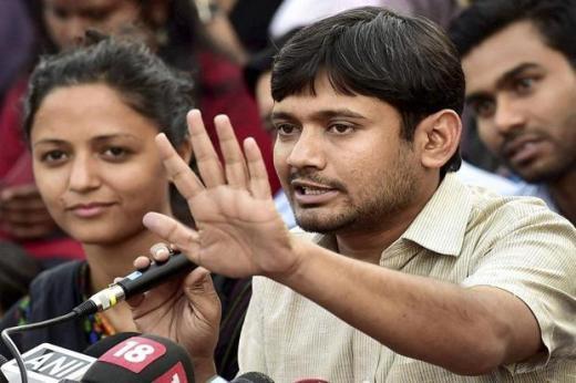 A file photo of JNU student leader Kanhaiya Kumar. Photo: PTI
