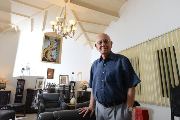 Xerxes Desai spent four decades working across the Tata Group. Photo: Hemant Mishra/Mint