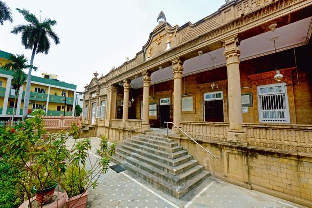 The Atash Behram (fire temple) in Navsari. Photo: Abhijit Bhatlekar/Mint