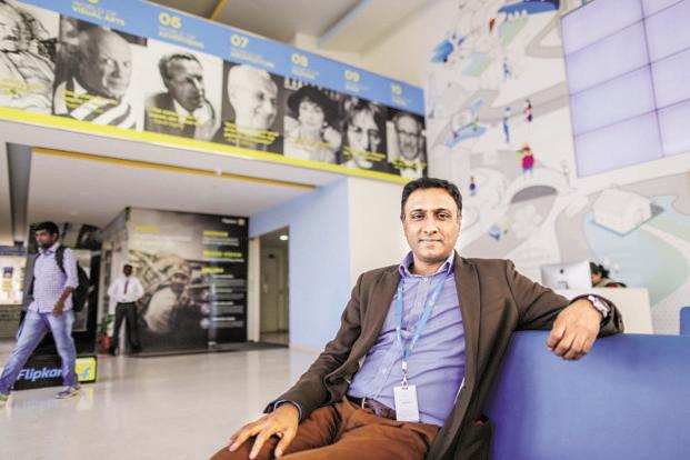 Flipkart CEO Kalyan Krishnamurthy. Photo: Bloomberg