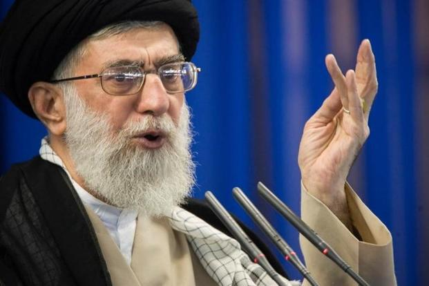 Image result for Ayatollah blames 'enemies with cash' for unrest