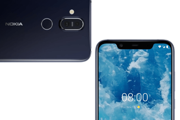The Nokia 8.1 has an excellent design — a glass body, chamfered metallic frame and a notch at the top. But, that's about it.