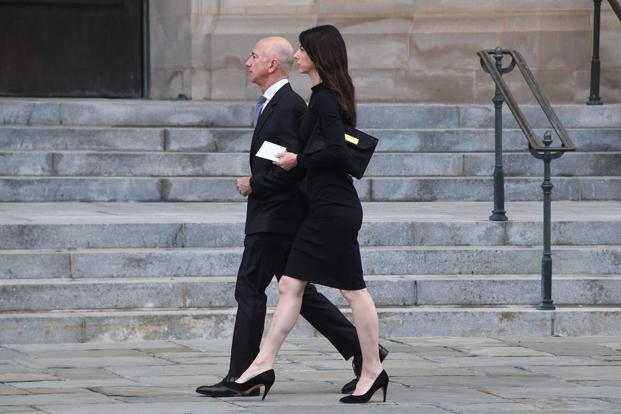Jeff Bezos, whom Forbes lists at the world's richest person with an estimated $136.2 billion, said via Twitter on Wednesday that he and his wife of 25 years, Mackenzie, will divorce. Photo: AFP