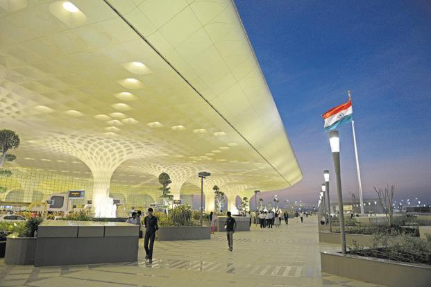 "This makes the Mumbai airport the first-ever aerodrome in the country to introduce the proposed ""digi yatra"" facility. Photo: Abhijit Bhatlekar/Mint."