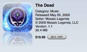 the dead app store
