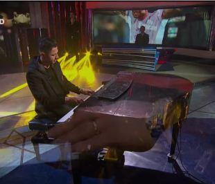 Lapadula suona Chopin alla domenica sportiva