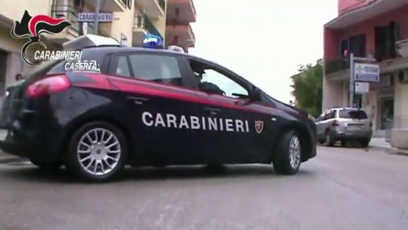 carabinieri caserta arresti sindaci teverola e vitulazio
