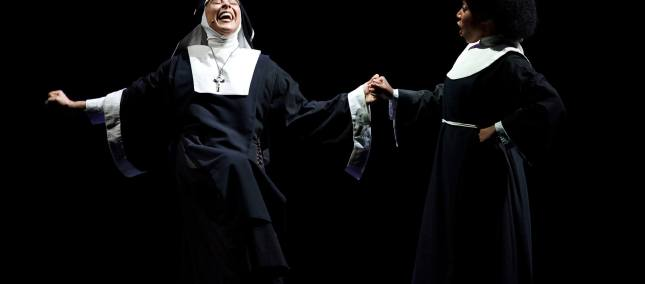 sister act musical teatro augusteo