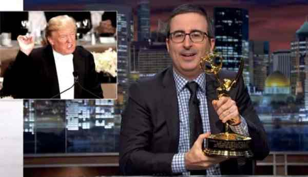 John Oliver Offers Trump His Emmy Award If He'll Accept ...