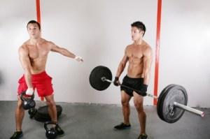 "Athletes performing ""Functional Training"" Exercises"