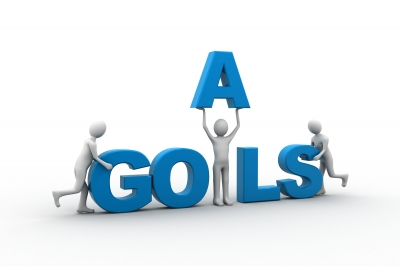 "Graphic of word ""Goals"""
