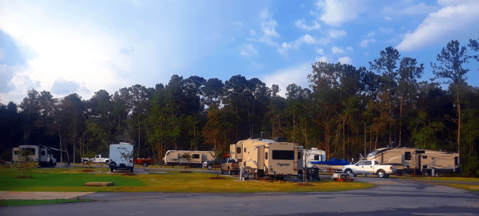 RV Campground Site