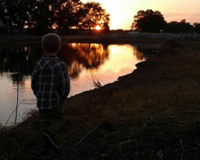 Sunset at the Catch & Release Pond