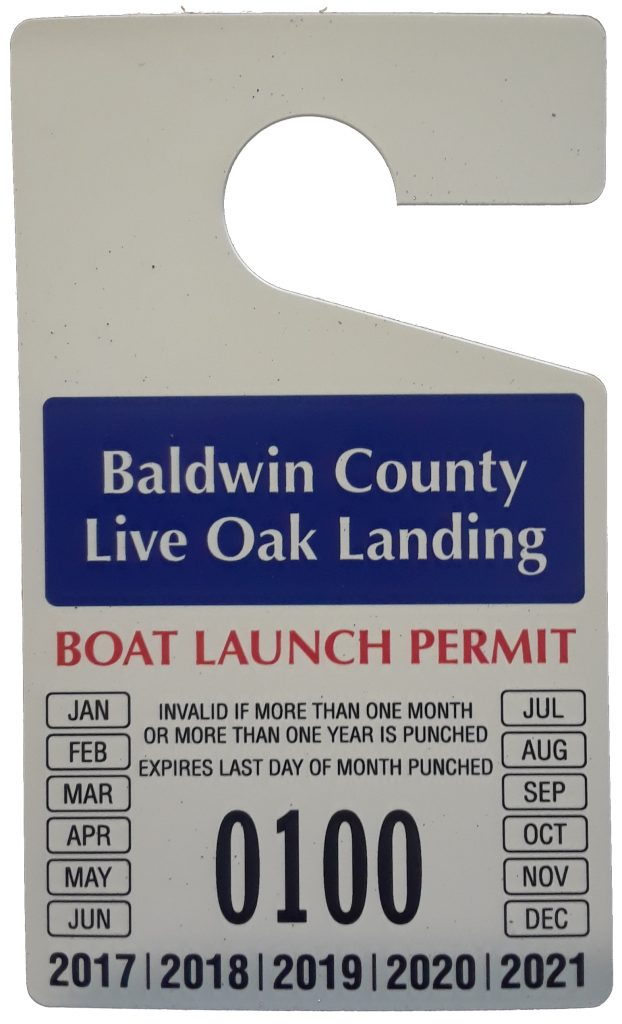 Live Oak Landing Annual Boat Ramp Pass